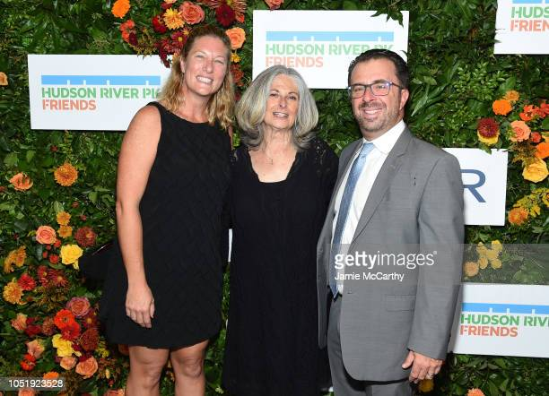 Connie Fishman and Joshua Rahn attend the 20th Anniversary Gala to Celebrate Hudson River Park at Pier 60 on October 11 2018 in New York City