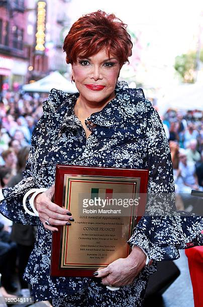 Connie Francis attends 86th Annual Feast Of San Gennaro on September 15 2012 in New York City