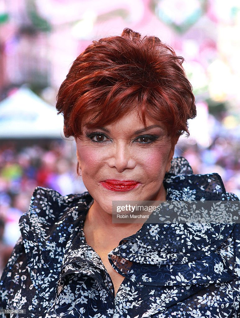 Connie Francis attends 86th Annual Feast Of San Gennaro on September 15, 2012 in New York City.