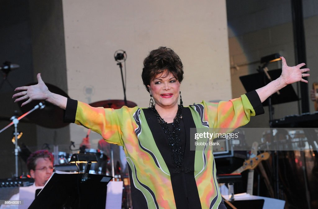 Connie Francis performs during the 31st Annual Seaside Summer Concert Series at Asser Levy Park, Coney Island on July 30, 2009 in New York City.