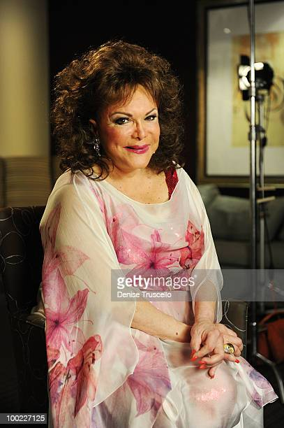 Connie Francis poses for portraits backstage at Eric Floyd's 'Grand Divas of Stage' at the Las Vegas Hilton on May 21 2010 in Las Vegas Nevada