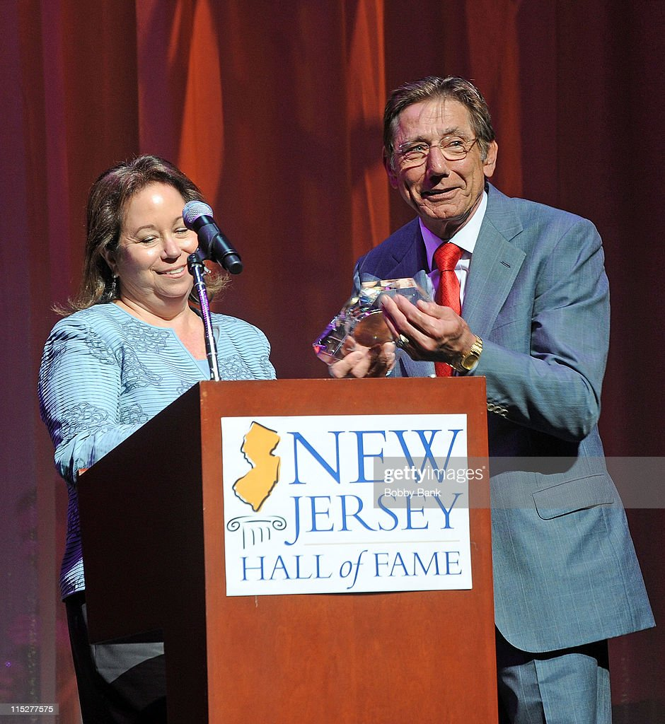 Connie Hess Williams and Joe Namath attends the 2011 New Jersey Hall of Fame Induction Ceremony at the New Jersey Performing Arts Center on June 5, 2011 in Newark, New Jersey.