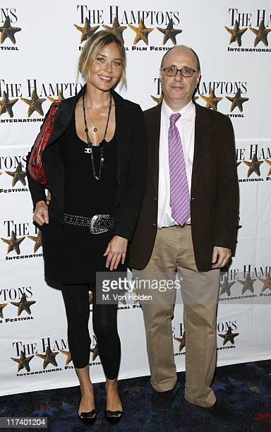 """Connie Nielsen and Philip Haas, Director during 14th Annual Hamptons International Film Festival - """"The Situation"""" Premiere at United Artists Theatre..."""