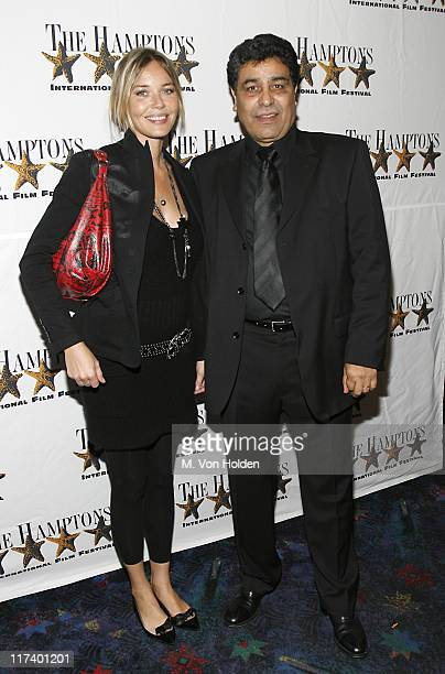 """Connie Nielsen and Said Amadis during 14th Annual Hamptons International Film Festival - """"The Situation"""" Premiere at United Artists Theatre in East..."""