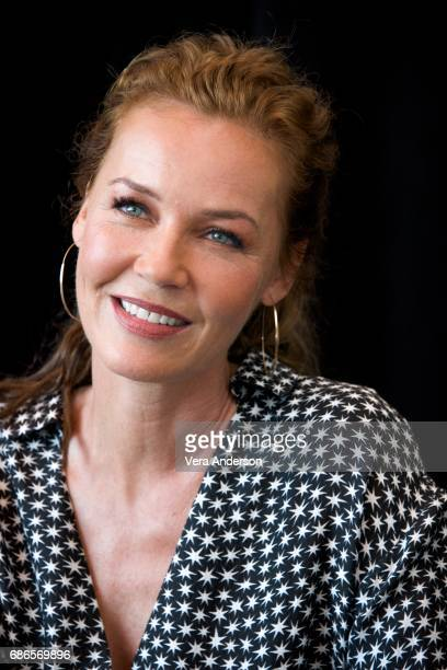 Connie Nielsen at the 'Wonder Woman' Press Conference at 3Labs on May 19 2017 in Culver City California