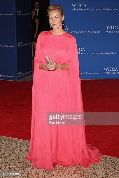 Connie Nielsen attends the 101st Annual White House Correspondents' Association Dinner at the Washington Hilton on April 25 2015 in Washington DC