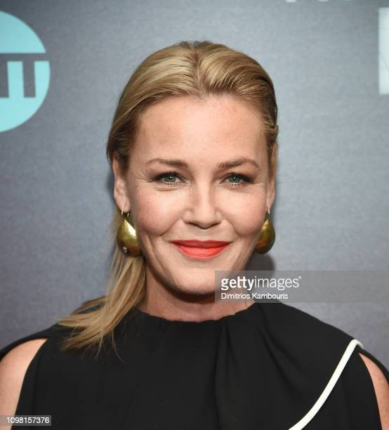 """Connie Nielsen attends the """"I Am The Night"""" New York Premiere at Metrograph on January 22, 2019 in New York City."""