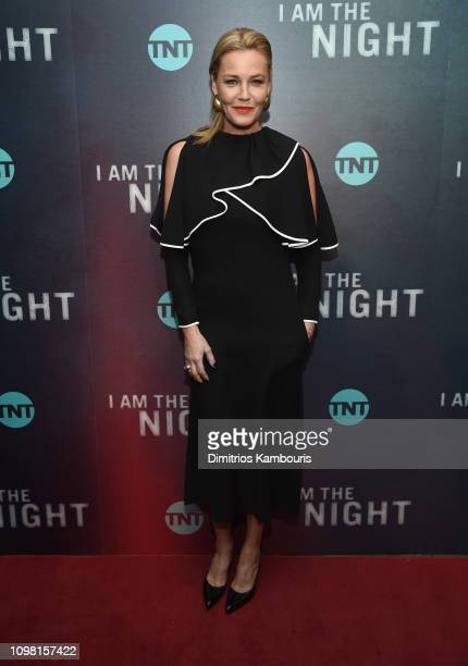 Connie Nielsen attends the I Am The Night New York Premiere at Metrograph on January 22 2019 in New York City