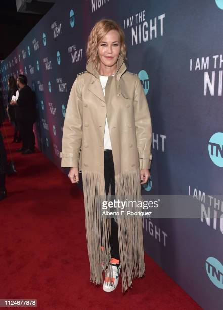 Connie Nielsen attends the premiere of TNT's I Am The Night at Harmony Gold on January 24 2019 in Los Angeles California