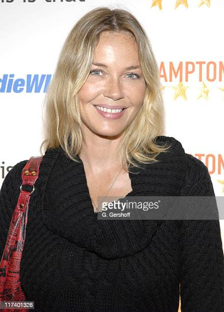 Connie Nielsen during 14th Annual Hamptons International Film Festival - Industry Toast to Ted Hope at East Hampton Point in East Hampton, New York,...