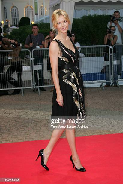 Connie Nielsen during 31st American Film Festival of Deauville Tribute to Robert Towne and The Ice Harvest Premiere at CID in Deauville France
