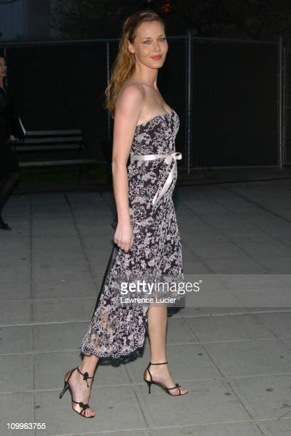 Connie Nielsen during 3rd Annual Tribeca Film Festival Vanity Fair Party at 60 Center Street in New York City New York United States
