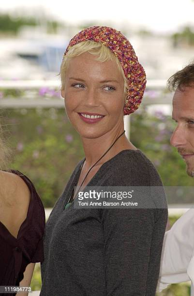 """Connie Nielsen during Cannes 2002 - """"Demonlover"""" Photo Call at Palais des Festivals in Cannes, France."""