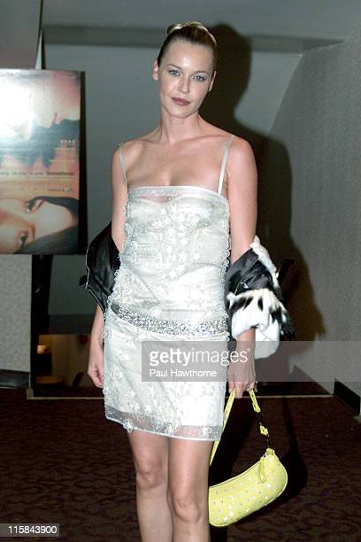 Connie Nielsen during Demonlover Premiere New York at Gramercy Theatre in New York City New York United States