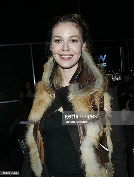 """Connie Nielsen during Gran Centenario Tequila Celebrates the Premiere of """"The Darwin Awards"""" at the 2006 Sundance Film Festival at the W Las Vegas..."""