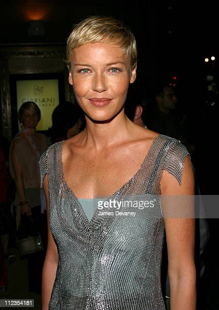 Connie Nielsen during 'Minority Report ' Premiere After Party at Cipriani 42nd Street in New York City New York United States