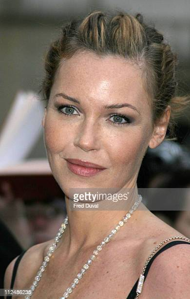 Connie Nielsen during Sony Ericsson Empire Film Awards Arrivals at Guildhall Arts Centre in London Great Britain