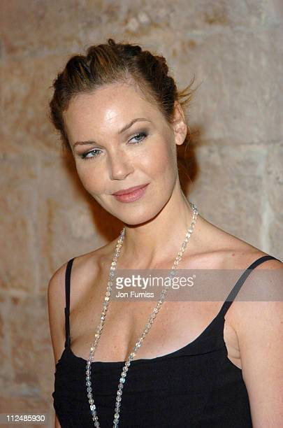 Connie Nielsen during Sony Ericsson Empire Film Awards Inside Arrivals at Guildhall in London Great Britain