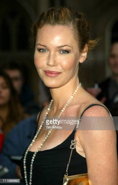 Connie Nielsen during Sony Ericsson Empire Film Awards - Outside Arrivals at Guildhall in London, Great Britain.