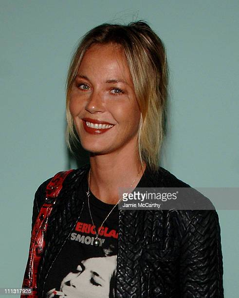 Connie Nielsen during The Cinema Society Afterparty for All the King's Men at The Riverhouse in New York City New York United States