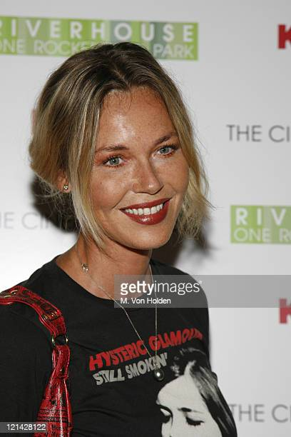 Connie Nielsen during The Cinema Society Screening of 'All the Kings Men' at Regal Cinema Battery Park in New York NY United States