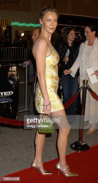 Connie Nielsen during The Hunted Premiere at Mann Village Theatre in Westwood California United States