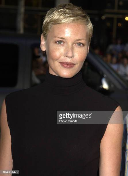 Connie Nielsen during Windtalkers Premiere at Grauman's Chinese Theatre in Hollywood California United States