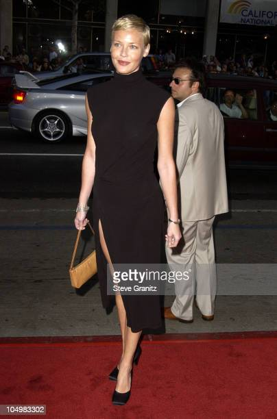 """Connie Nielsen during """"Windtalkers"""" Premiere at Grauman's Chinese Theatre in Hollywood, California, United States."""