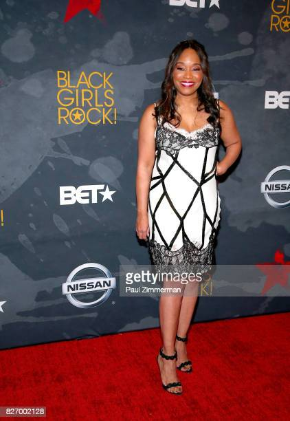 Connie Orlando attends the 2017 Black Girls Rock at NJPAC on August 5 2017 in Newark New Jersey