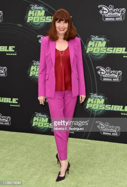 Connie Ray attends the premiere of Disney Channel's Kim Possible at The Television Academy on February 12 2019 in Los Angeles California