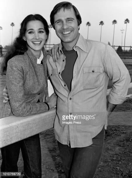 Connie Sellecca and Gil Gerard circa 1979 in New York City