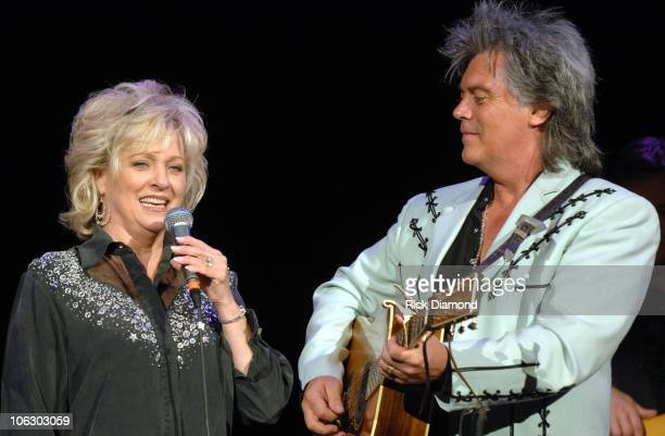 Connie Smith and Marty Stuart during CMA Music Festival Fan Fair 2007 Marty Stuart's 6th Annual Late Night Jam at Ryman Auditorium in Nashville TN...
