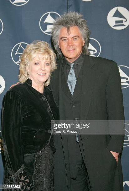 Connie Smith and Marty Stuart during The Recording Academy Honors Nashville Chapter at Loews Vanderbilt Plaza Hotel in Nashville Tennessee United...