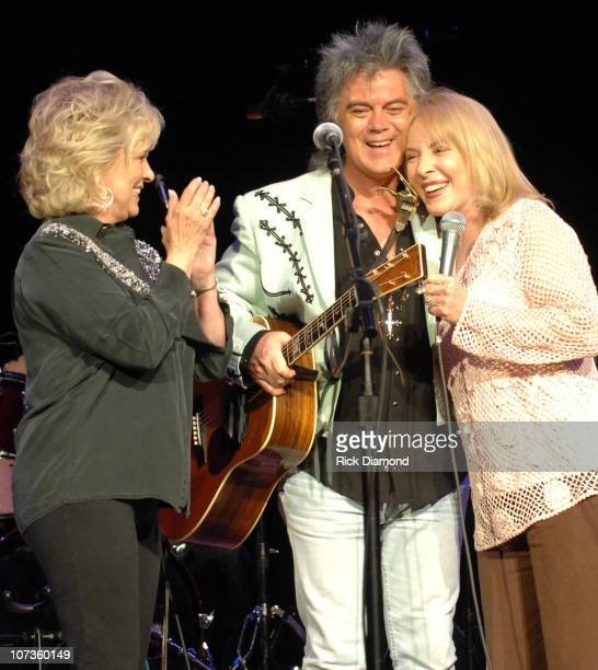 Connie Smith Marty Stuart and Barbara Fairchild during CMA Music Festival Fan Fair 2007 Marty Stuart's 6th Annual Late Night Jam at Ryman Auditorium...