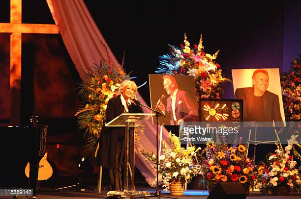 Connie Stevens at The Bobby Hatfield Celebration Of Life Bobby Hatfield of The Righteous Brothers was remembered by his singing Partner Bill Medley...