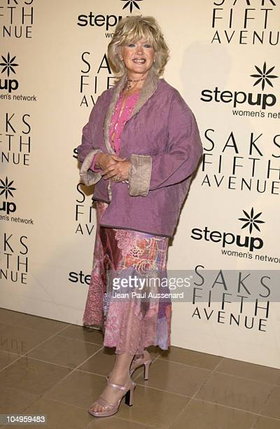Connie Stevens during 2nd Annual Mother and Daughter Brunch to Benefit Step Up Women's Network at Saks Fith Avenue in Beverly Hills California United...