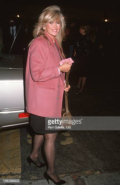 Connie Stevens during Connie Stevens Sighted at Roxbury Nightclub November 3 1990 at Roxbury Nightclub in Hollywood California United States