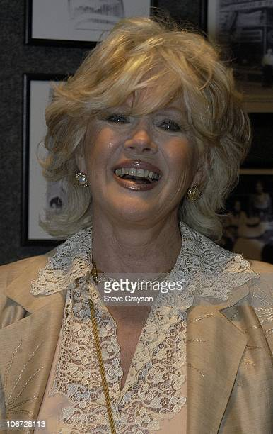 Connie Stevens during Renee Taylor's OneWoman Stage Portrait An Evening With Golda Meir Premiere Engagement at The Canon Theater in Beverly Hills...