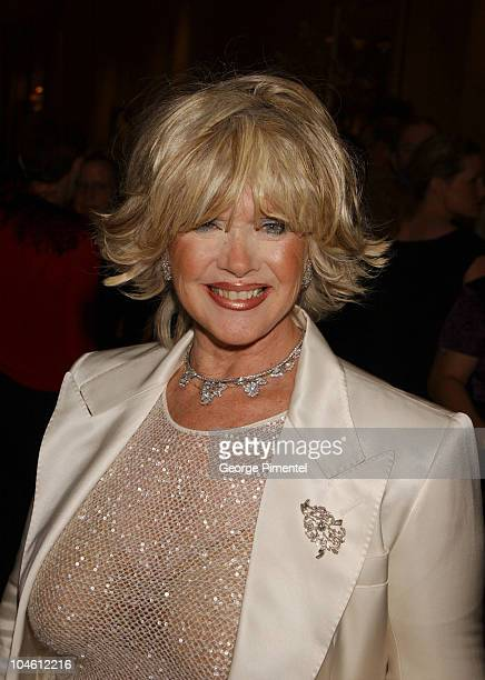 Connie Stevens during Warren Cowan Named Mentor of the Year by Volunteers of America at Beverly Hilton Hotel in Beverly Hills California United States