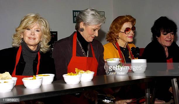 Connie Stevens Lee Meriwether Jayne Meadows and Jo Anne Worley