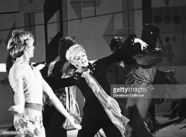 Connie Stevens performs on This Is Tom Jones TV show in circa 1970 in Los Angeles California
