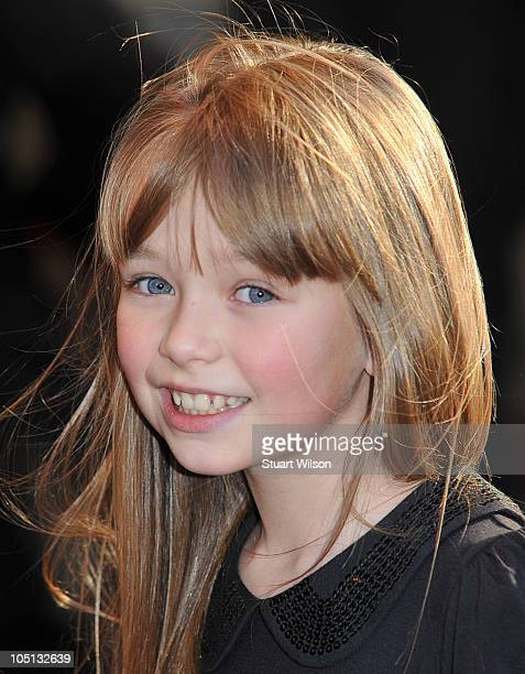 Connie Talbot attends the UK premiere of 'Legend Of The Guardian' at Odeon West End on October 10 2010 in London England