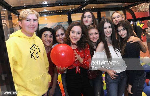 Connnor Dean Hunter Payton Alyssa de Boisblanc Kacey Fiefield Pilot PaisleyRose Alexa Reddy Britten Healy Trinity Rose and Samantha Gangal attend the...