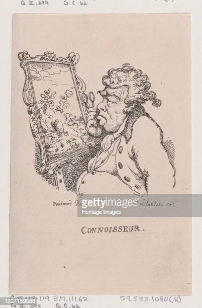 Connoisseur April 1808 Artist Thomas Rowlandson
