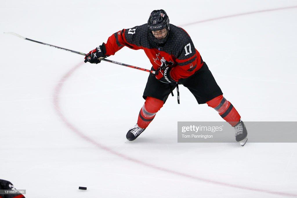 2021 IIHF Ice Hockey U18 World Championships - Final : News Photo