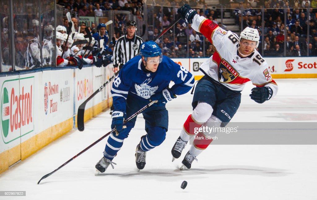 Florida Panthers v Toronto Maple Leafs : News Photo