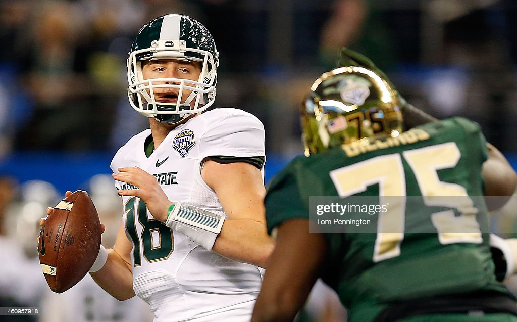 Goodyear Cotton Bowl Classic - Michigan State v Baylor : News Photo