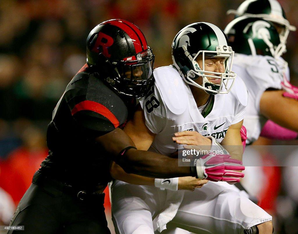 Michigan State v Rutgers : News Photo
