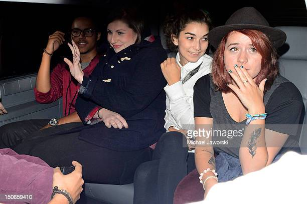 Connor Cruise and Isabella Cruise are seen leaving Chinawhite on August 23 2012 in London England