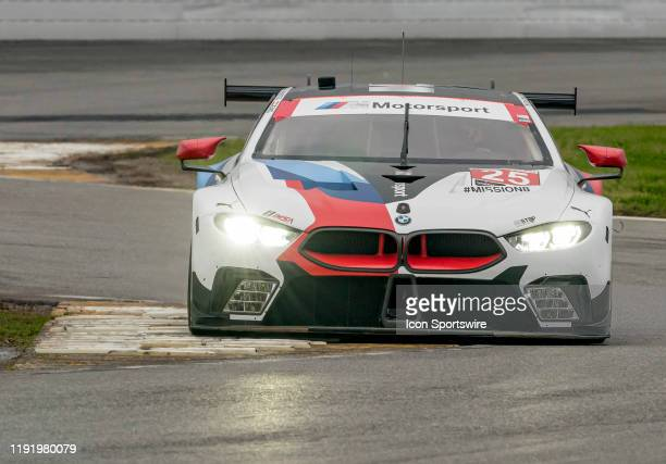 Connor De Phillippi USA Philipp Eng AUT Bruno Spengler CAN Colton Herta USA driver GT LE MANS of BMW Team RLL~BMW M8 GTE during the Roar before 24...